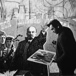 Working on a mosaic of Lenin, 1967