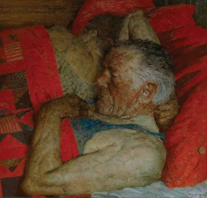 Geli-Korzhev-Old-Woundings-Injuries-1967-Oil-on-Canvas-78-x-81-1-2-300x287