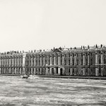 William C. Brumfield. Winter Palace, Small Hermitage, Great Hermitage, Hermitage Theatre. Neva River Façade.. 1980. Photograph. Approx. 9 x 20 in..