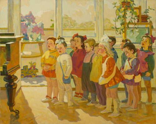 Born in the USSR: Paintings of Childhood and Youth post image