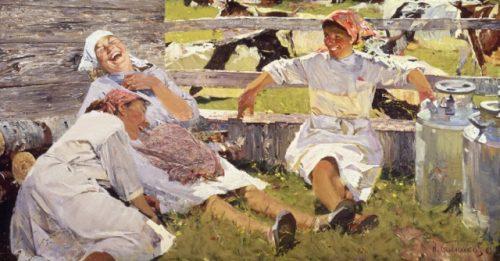 """Milkmaids, Novella"" at the TMORA Museum Store post image"