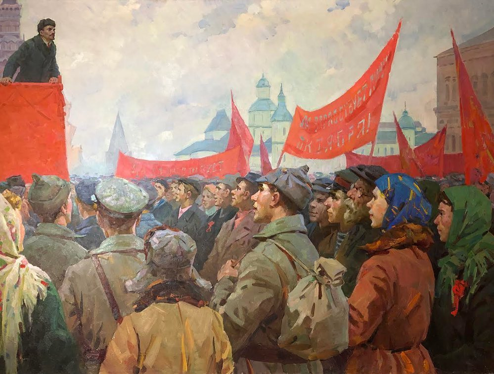 Leaders and the Masses: Mega Paintings from Soviet Ukraine post image
